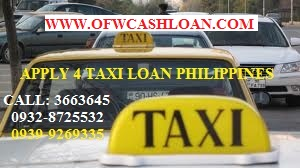 taxi loan philippines